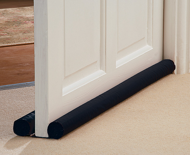 Guidelines on how to install a draught excluder brush strips for Door draught excluder