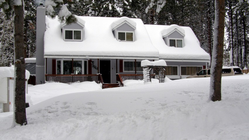 Home-during-Winter-Snow