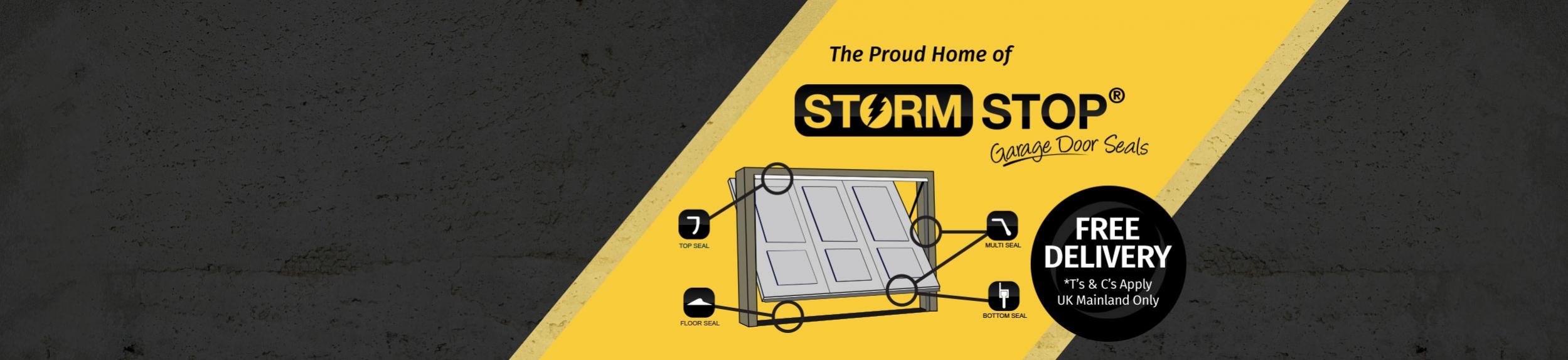 Storm Stop | Garage Door Seals